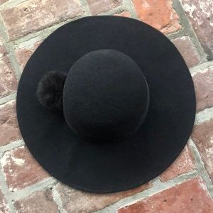 Black forever 21 big brim hat